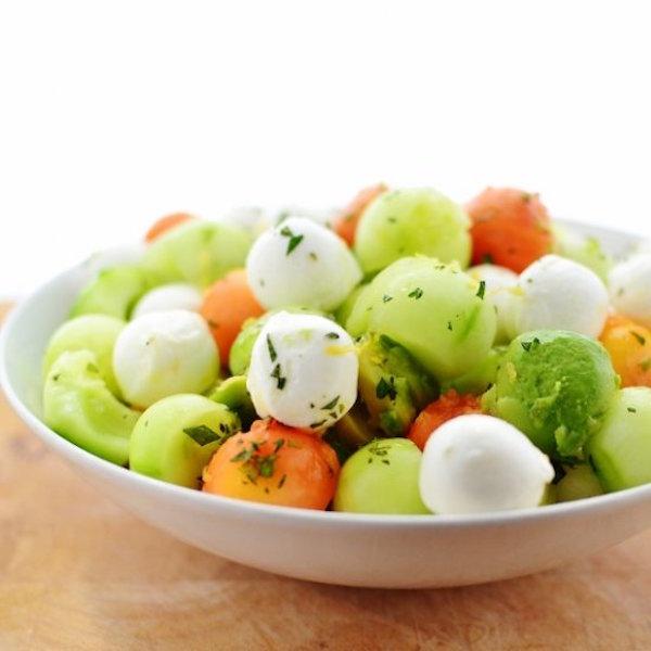 easy baller summer salad
