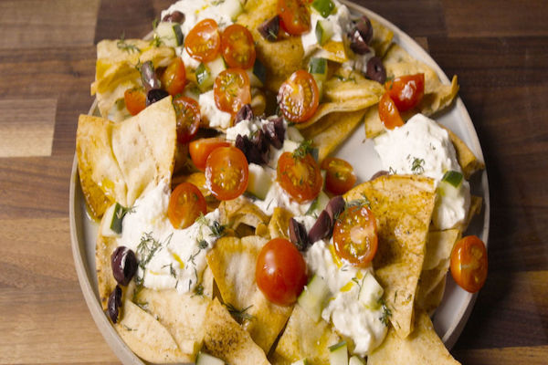 greeek nachos