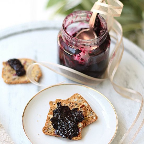 Blueberry Jam without Pectin – Edible Crafts