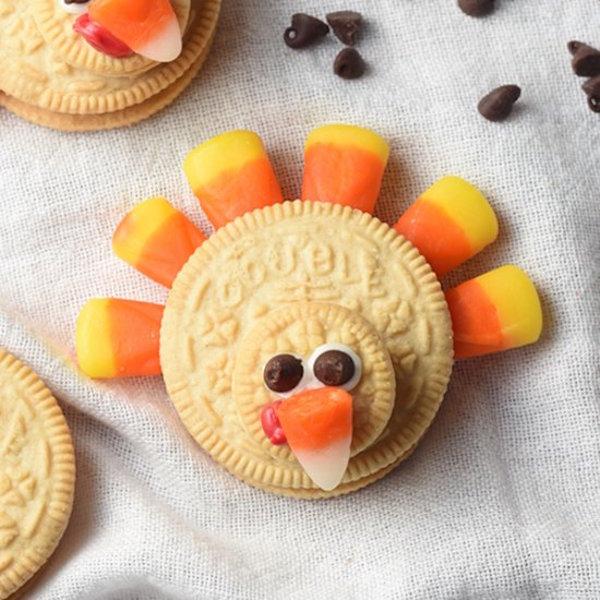 19 Edible Turkey Crafts Thanksgiving Crafts: Easy No-Bake Thanksgiving Treats