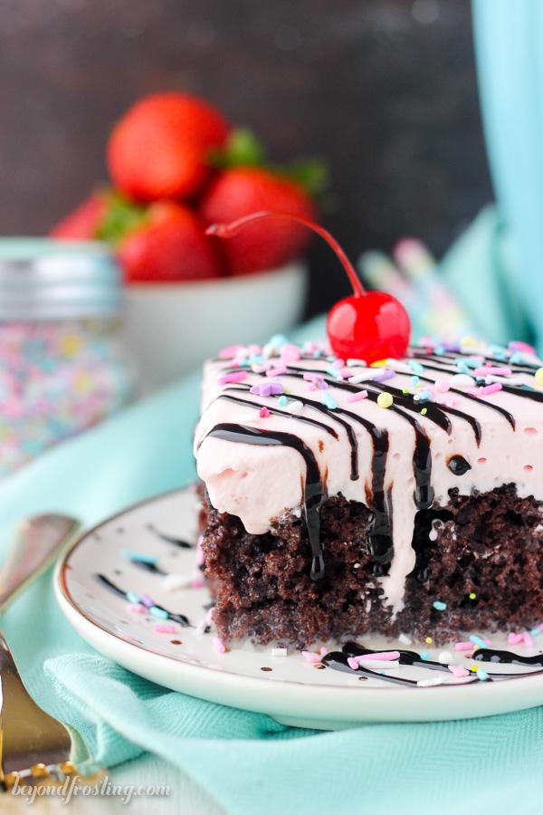 Got Milk? Strawberry Milkshake Cake – Edible Crafts
