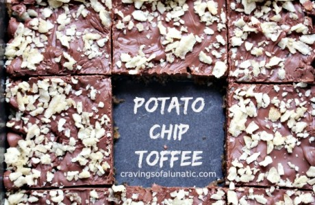 Salty And Sweet Potato Chip Toffee