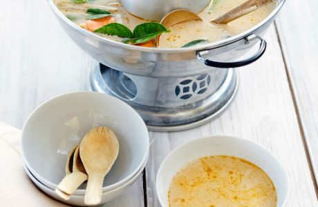 Thai Soup Recipe And An Amazing Soup Warmer