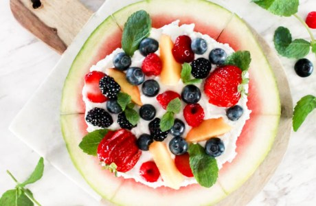 Something different: Watermelon Pizza