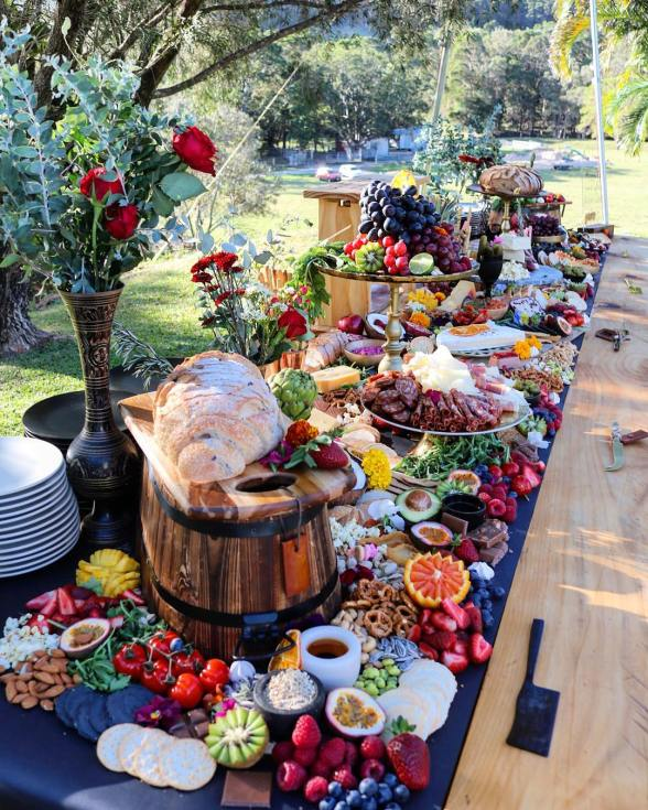 Best Food To Have At A Wedding: The Best Grazing Tables