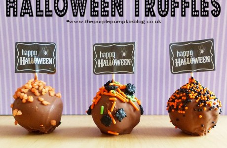 Crushed Biscuit Halloween Truffles Anyone Can Make
