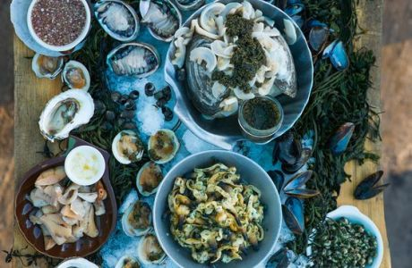 Seafood Grazing Table