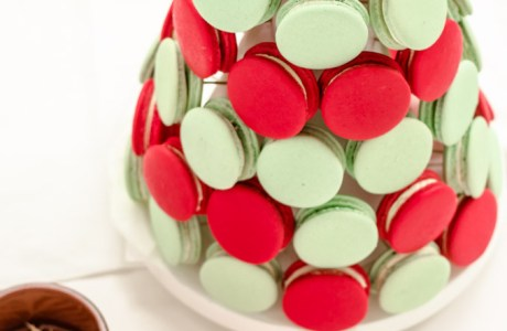 Edible Crafts – Macaron Christmas Tree