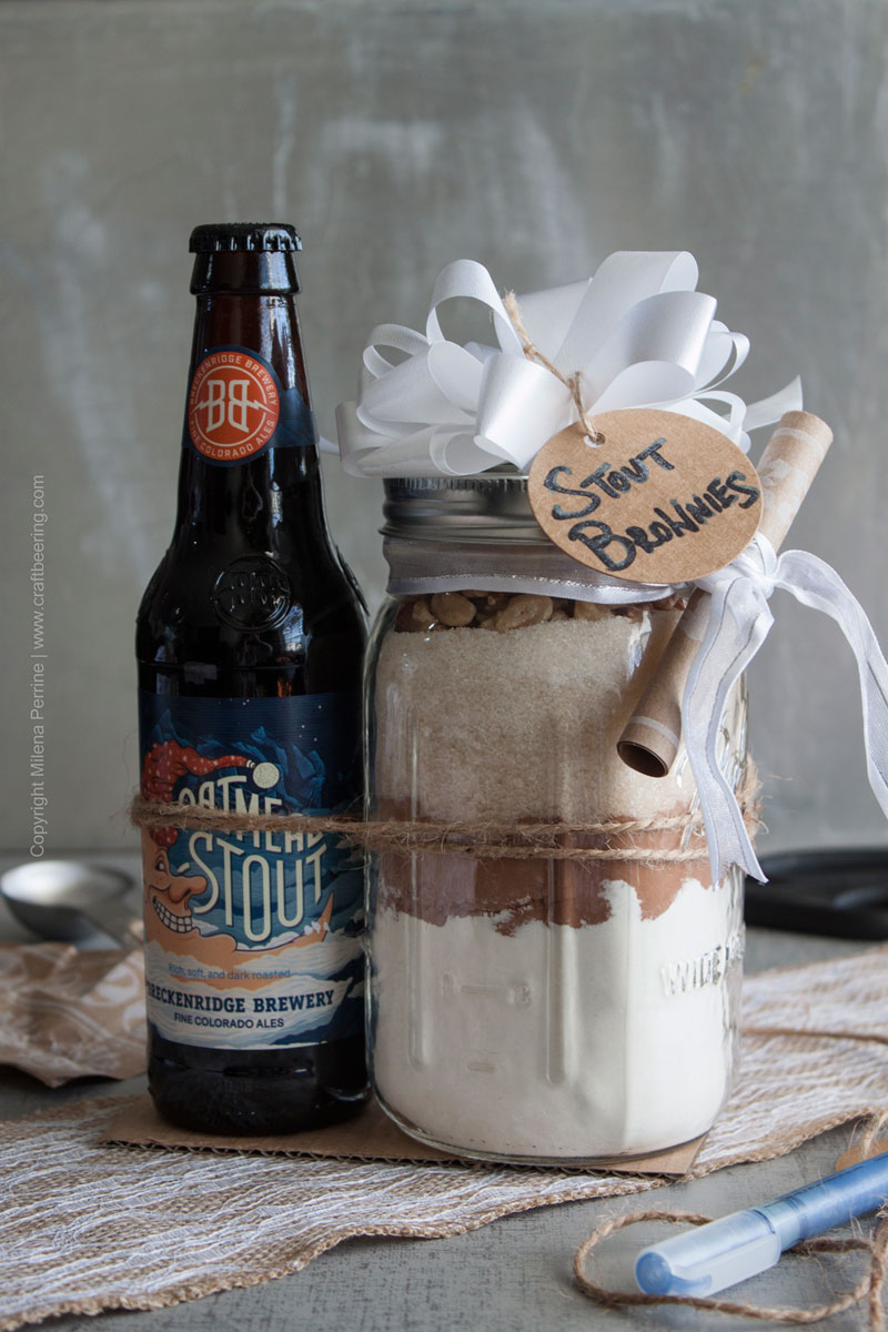 A Gift For Dad – Stout Brownies Gift In A Jar