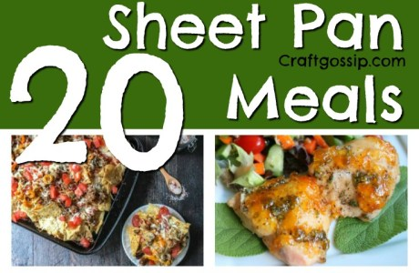 20 Sheet Pan Recipes