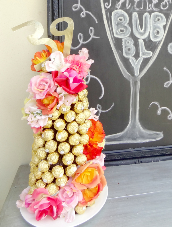 Alternative Cake – Ferrero Rocher Cake Tower