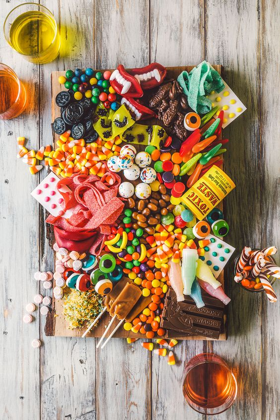 Halloween Candy Grazing Table