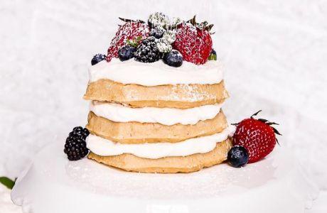 Eggo Waffle Cake