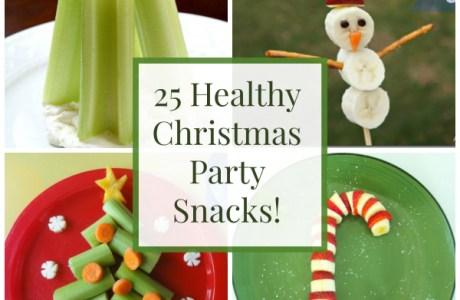 25 Healthy Christmas Food Ideas