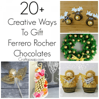 DIY Ferrero Rocher Gift Ideas