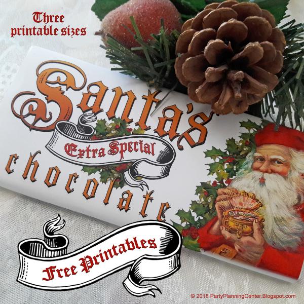 Free Printable Christmas Chocolate Bar Wrappers Edible Crafts