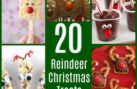 20 Reindeer Christmas Treats