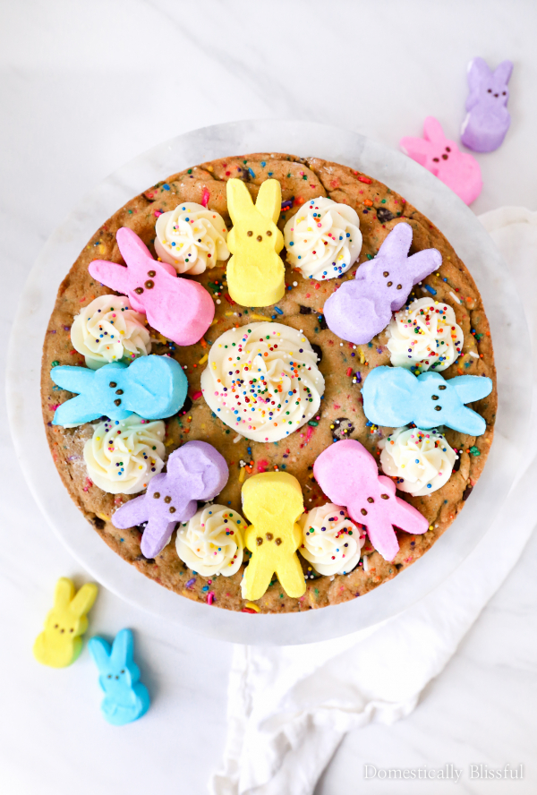 DIY PEEPS® Cookie Cake