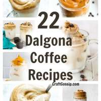 22 Dalgona Coffee Recipes
