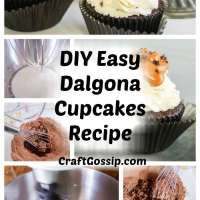 Dalgona Cupcakes You Can Make At Home