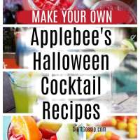 Applebee's Halloween Cocktail Recipes