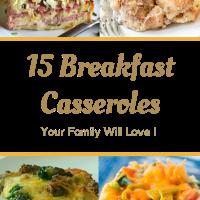 15 Breakfast Casseroles For The Christmas Holiday Season