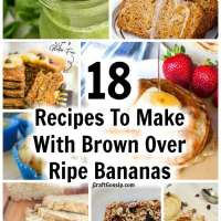 18 Recipes To Make With Brown Over Ripe Bananas