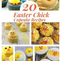 20+ Easter Chick Cupcakes You Can Make At Home