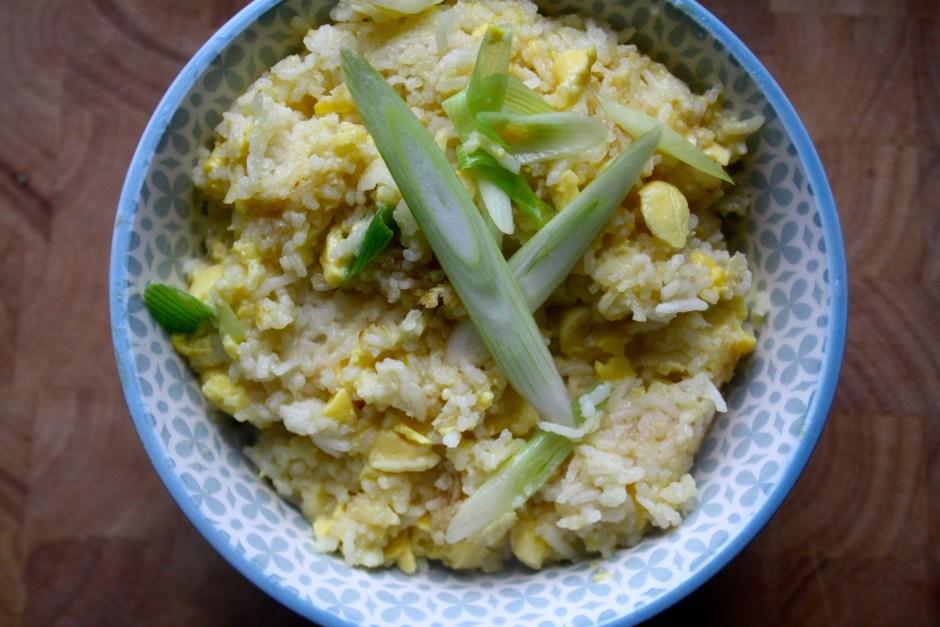 vegan ackee fried rice