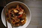 vegan kimchi tofu noodles recipe