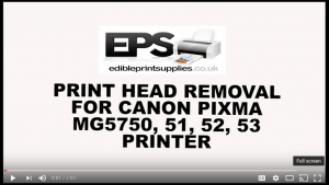 How to Remove Print Head for Cleaning on Canon MG5750