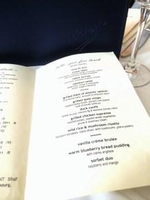 bodega menu