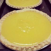 Lemon Meringue Pie ready for some meringue