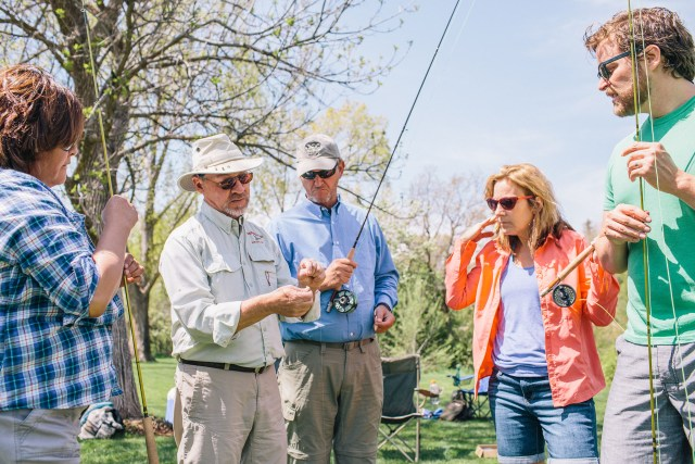 fly fishing group