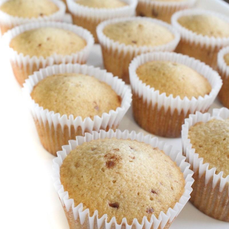 Malted Milk Ball Cupcakes with Milk Dud Ganache