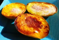 Grilled Mangoes