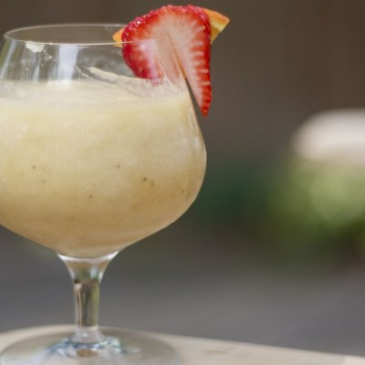 Mr. Lavender's frozen banana daiquiri