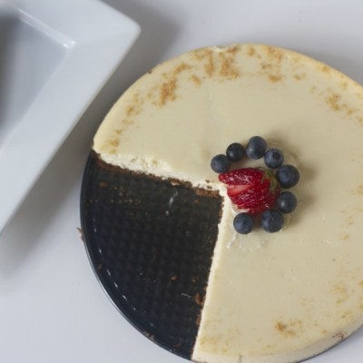 Take your cheesecake to the next level with mascarpone