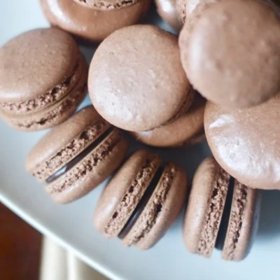 The beauty of chocolate ganache