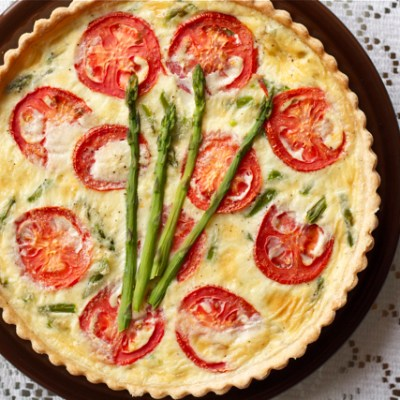 Know your ratios for a perfect crust and quiche every time
