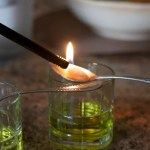 How to serve absinthe (on fire)