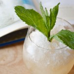 Mint julep recipe from Edible Times