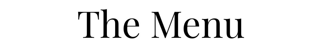 Edible Times Culinary Services Menu Header Image