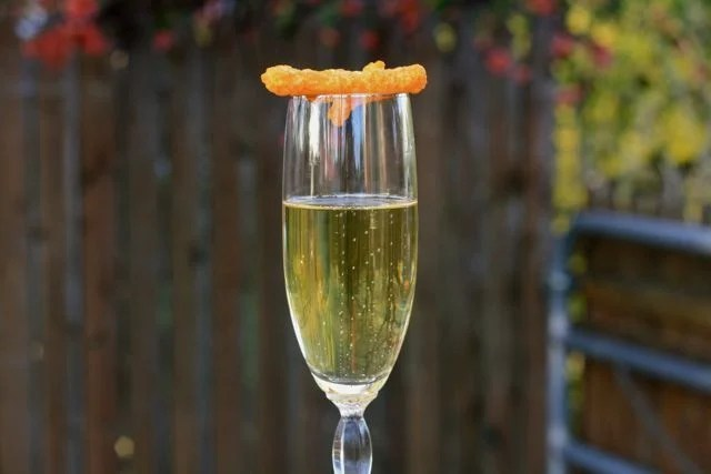 Drink champagne and eat Cheetos with Edible Times