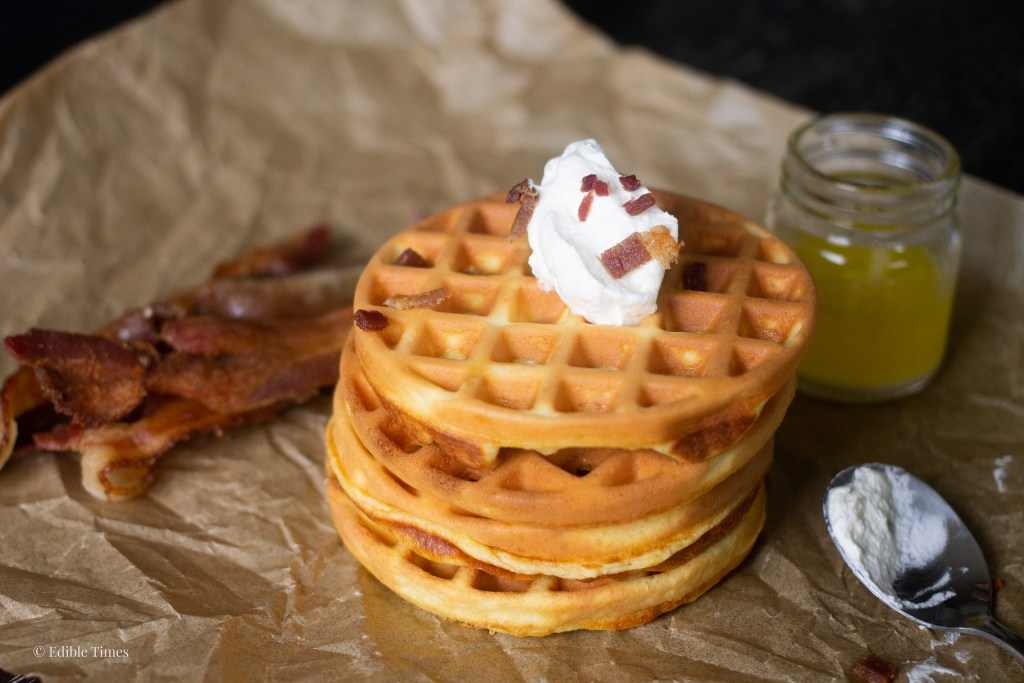 Chaffles recipes from Edible Times