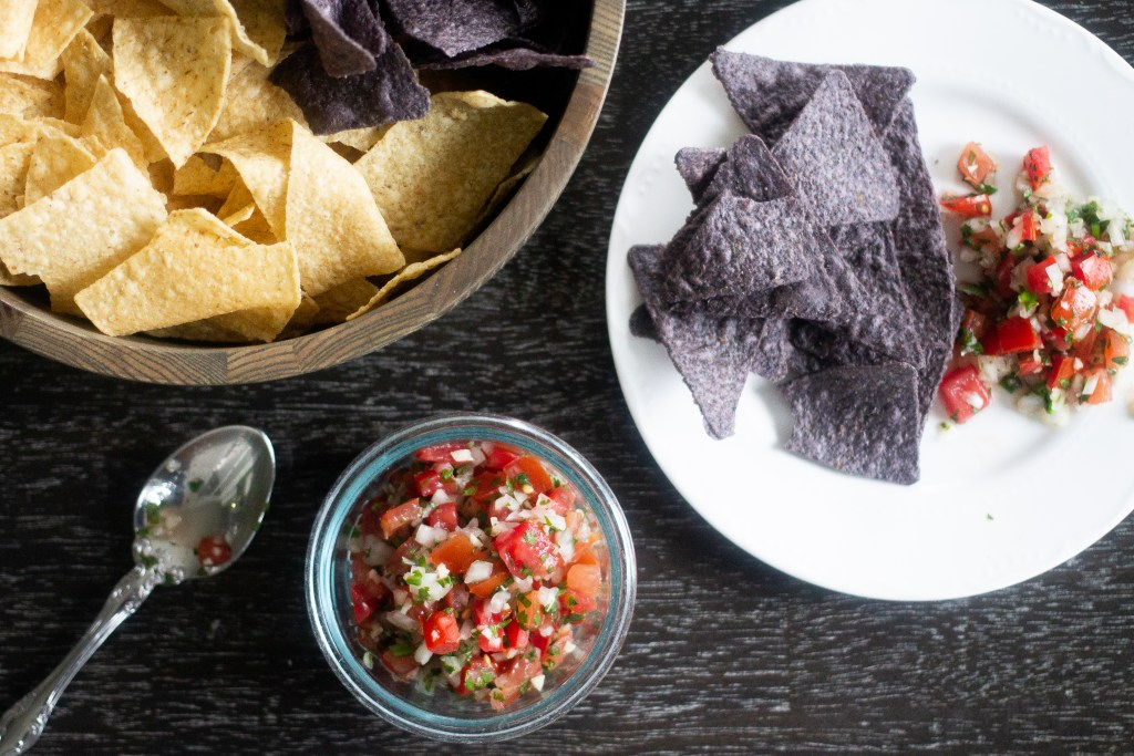 Pico de gallo recipe, and how to mix it up with what you have on hand!