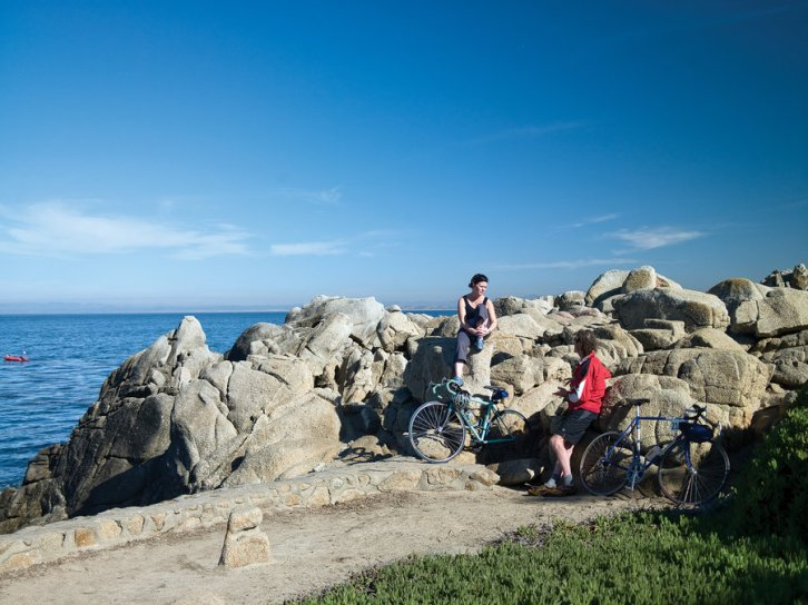 Explore Pacific Grove, California, by bike