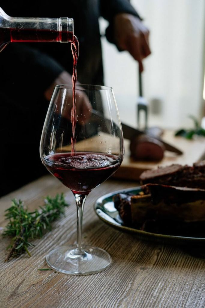 How can saponin in red wine cut your cholesterol and lower the risk of getting a heart attack?