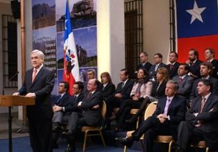 Piñera despacha proyecto de ley para elección directa de Consejeros Regionales
