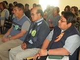 Obispo en encuentro con comunidades del Decanato Pampa